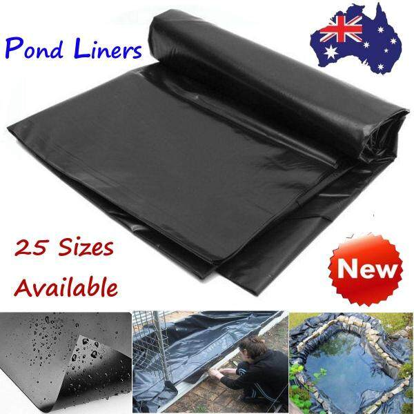 Fish Pond Liner Gardens Pools PVC Membrane Reinforced Landscaping Double Lay Pond Liner Impermeable Membrane Waterproof Film 3.5m X 3.5m