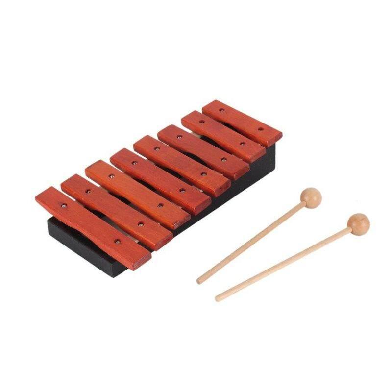 OH 1 cái Trẻ Em Âm Nhạc Bằng Gỗ Tự Nhiên Màu Đàn Xylophone Bộ Gõ Nhạc Cụ