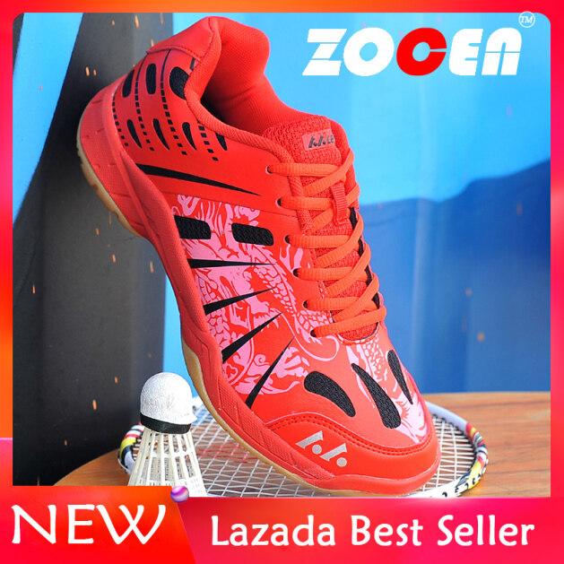 Giày Cầu Lông ZOCEN Cho Nam Nữ, Giày Cầu Lông Thoáng Khí Chống Trơn Trượt Trọng Lượng Nhẹ Giày Tập Luyện Giày Thể Thao Giày Thể Thao Giày Tennis giá rẻ