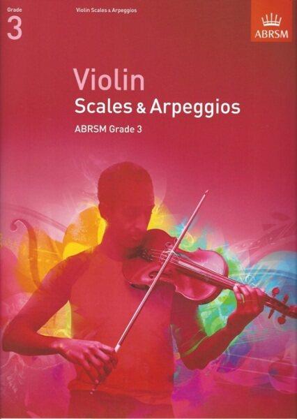 ABRSM Violin Scales & Arpeggios Grade 3 Malaysia