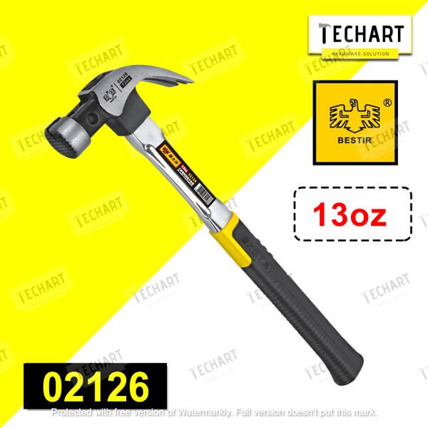 Bestir 02126 700g Stainless Steel Claw Hammer 13oz Tukul Besi Lenght 40cm