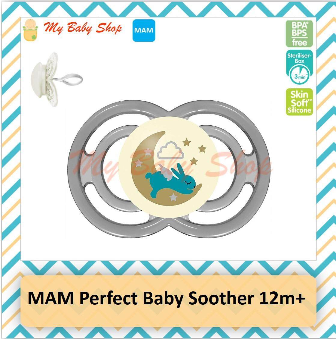 Mam Perfect Pacifier (12+ Months) Single Pack By Mybabyshop.