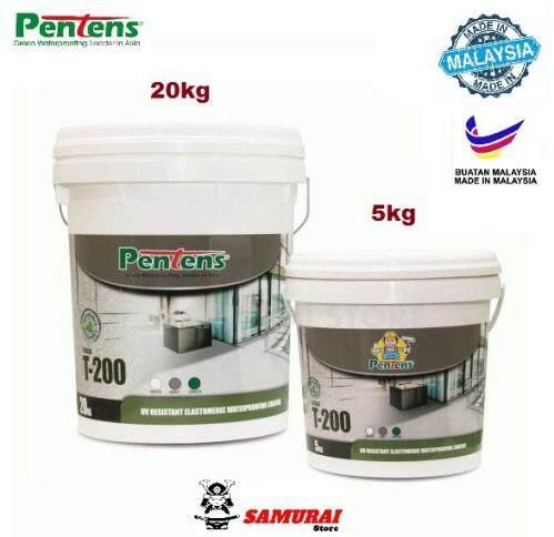 Pentens Fleseal T-200 UV Resistant Elastomeric Waterproofing Coating - 5 Kg