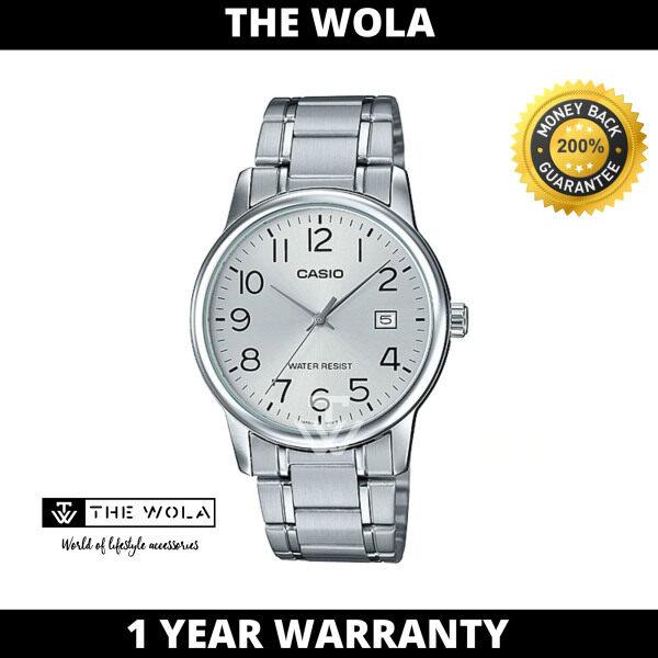 (100% Original CASIO) CASIO Men Casual Watch MTP-V002D-7BUDF (watch for man / jam tangan lelaki / Casio watch for men / Casio watch / men watch / watch for men) Malaysia
