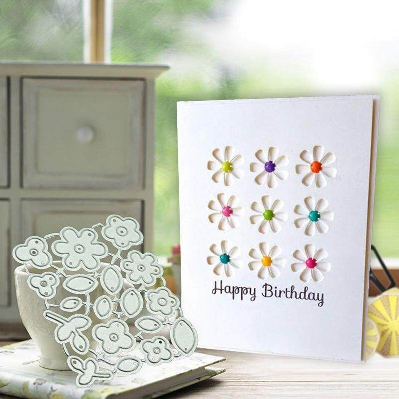 Meiyang Flower Metal Cutting Dies Scrapbooking Embossing Dies Cut Stencils Diy Decorative Cards By Meiyang