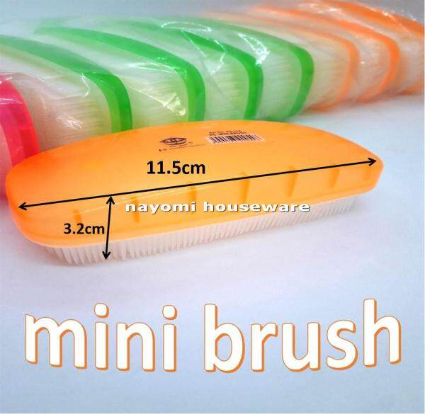 3 PCS PE 318 Mini Brush For Scrubbing and Cleaning Clothes/Shoes.Ship Within 6 Hours