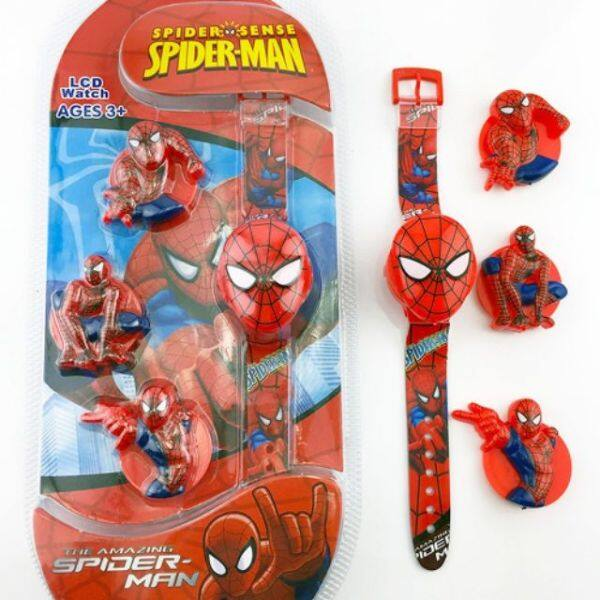 (READY STOCK) LCD KIDS WATCH SPIDERMAN Malaysia