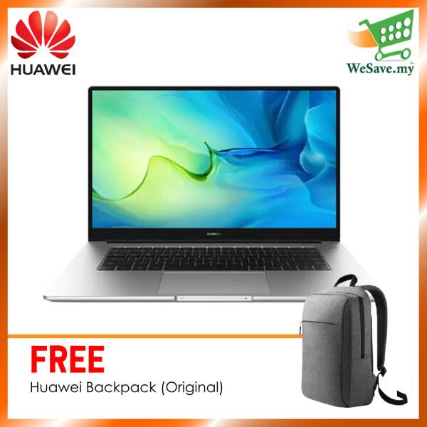 Huawei MateBook D15 10th i5 2021 (16GB RAM + 512GB) 15.6 Screen Size Mystic Silver Colour (Original) 2 Years Warranty By Huawei Malaysia (FREE ACCESSORIES) Malaysia