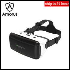 Amorus Kính thực tế ảo SHINECON SC-G06, kèm dây đeo đầu, màn hình IMAX 3D 4.0 – INTL