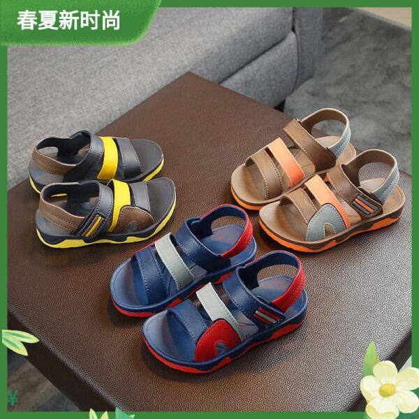 Xăng Đan Trẻ Em Ls Velcro Hàng Mới Về 2021, Xăng Đan Trẻ Em Giày Đi Biển Đế Mềm Siêu Chất Lượng Cao, Thoáng Khí. Xăng Đan Bé Trai