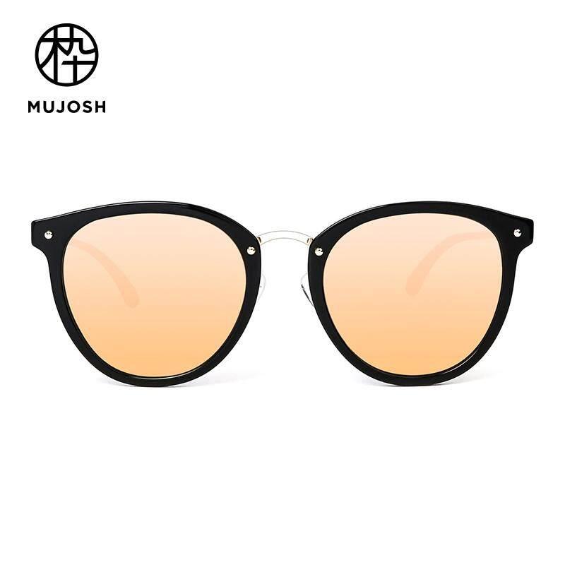 38df19cce60 MUJOSH Retro Cat-Eye TAC Polarized Acetate Sunglasses for Women Outdoor UV  Protection SM1600045