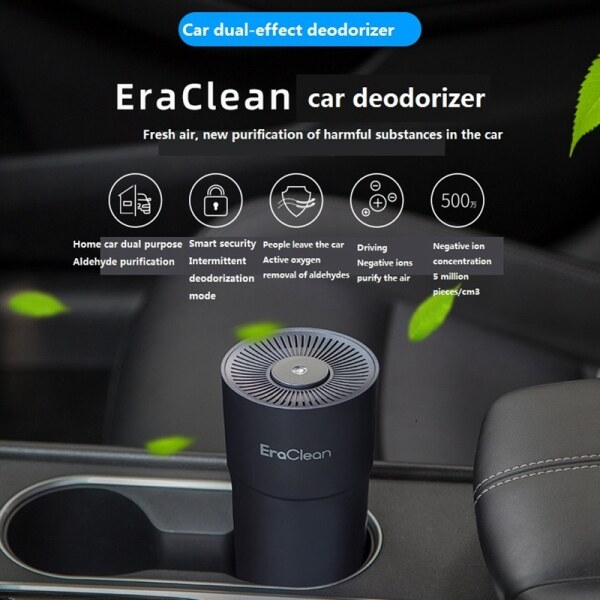 Xiaomi youpin Eraclean Portable Car Air Humidifier Aroma Essential Diffuser USB Car Air Purifier,Ultra Low Noise for Office, Car, Small Room Singapore