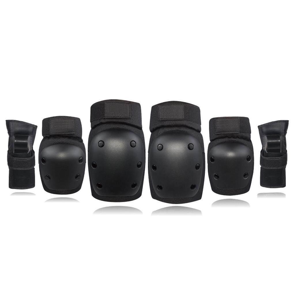 Knee Elbow Pads Wrist Guards Protective Safety Gear Set for Kids Children Adult Skateboarding Inline Skating
