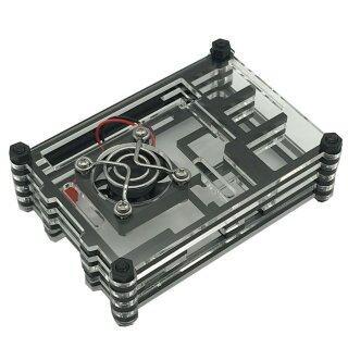 Vỏ Mâm Xôi 3 Thế Hệ Vỏ Mâm Xôi Pi 3 Bằng Acrylic Vỏ Lắp Ráp thumbnail