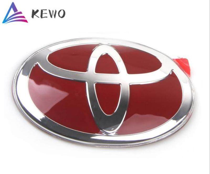 Toyota Car Logo FRONT Red Emblem Car Modification for WISH/Camry2006-2008/VIOS2002-2005/VIOS2008(130mm*90mm)