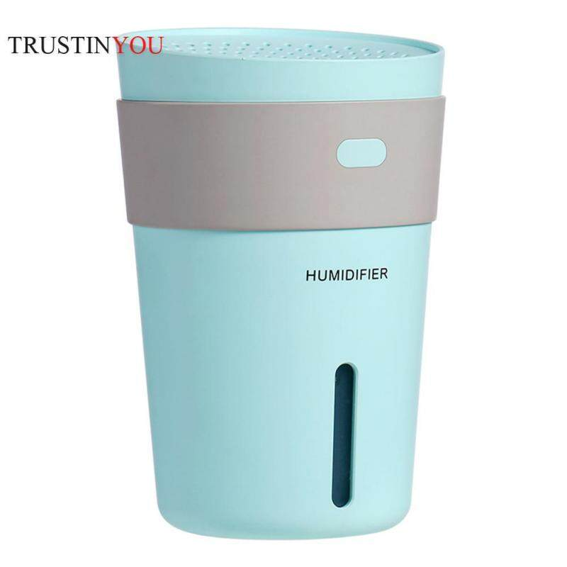 [trustinyou]260ml 7 Colors LED Ultrasonic USB Humidifier Aroma Essential Oil Diffuser Singapore