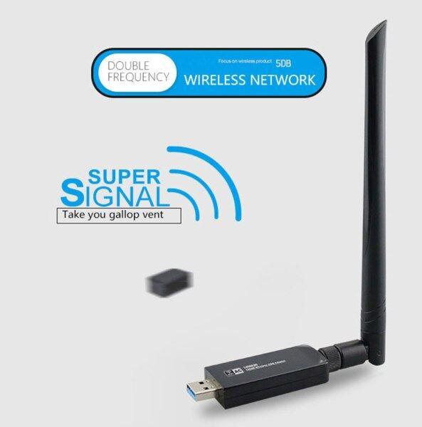 Bảng giá Không Dây AC Bộ Điều Hợp Wi-Fi 1200Mbps Usb3.0 Khóa Điện Tử Wifi Rtl8812au Chipset 5 GHz Thẻ Không Dây Cho Kali Linux Pentesting Phong Vũ