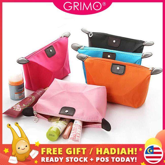 Grimo Malaysia - Candy Make Up Pouch Travel Pouch Coin Lady Dompet Makeup Beg Tangan Wallet Bag Handbag Tote For Women Ladies Student Lady Gift Hadiah Perempuan Casual Dinner Cantik Girl Raya Korea Japan Ready Stock By Grimo Shop.