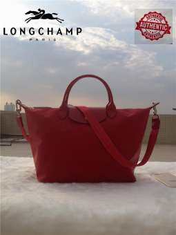 Longchamp_original The NEO พับ 1515 ยอดจับกระเป๋าแฟชั่นของผู้หญิงข้ามร่างกายกระเป๋าสะพายไหล่เดียว