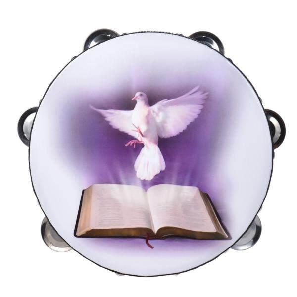 8  Hai Hàng Chuông Tay Trống Vỗ Nhạc Cụ Gõ Với Họa Tiết Do-Ve & Kinh Thánh Cho Nhà Thờ