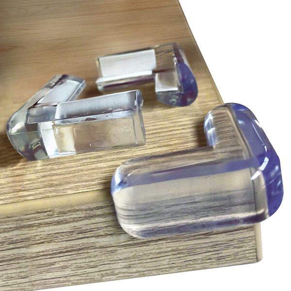 HOME BEST Baby Safety Soft Home Furniture Desk Table Corner Edge Protector Cover include double side tape Keselamatan Bayi Meja Perabot RumahLembut Pelindung Sudut Tepi Pita Sisi 婴儿安全角边缘保护套
