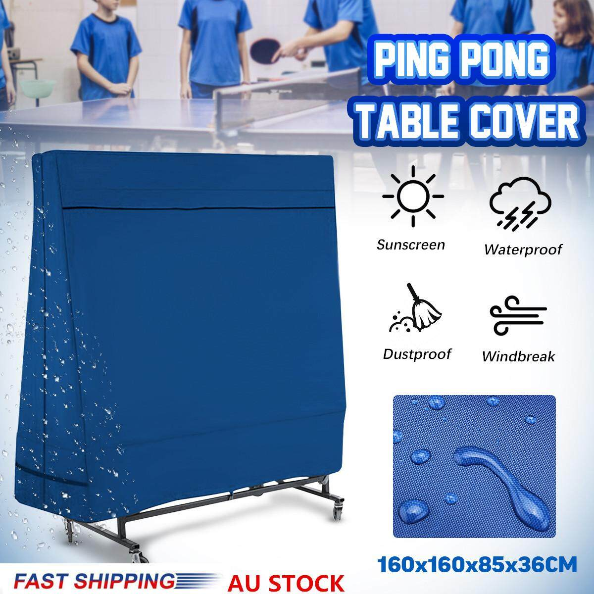 Waterproof Indoor/Outdoor Table Tennis Cover Pin Pong Table Protective Sheet