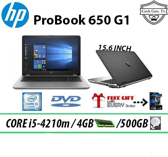 HP ProBook 650 G1 Intel Core i5-4210m 4GB RAM 500GB HDD 15.6 INCH Malaysia
