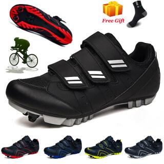 Nam Mới Giày Đi Xe Đạp MTB Phụ Nữ Tự Khóa SPD Cleats Giày Đi Xe Đạp Ngoài Trời Giày Đi Xe Đạp Racing Sneakers Cỡ Lớn 45 46 47 48 thumbnail