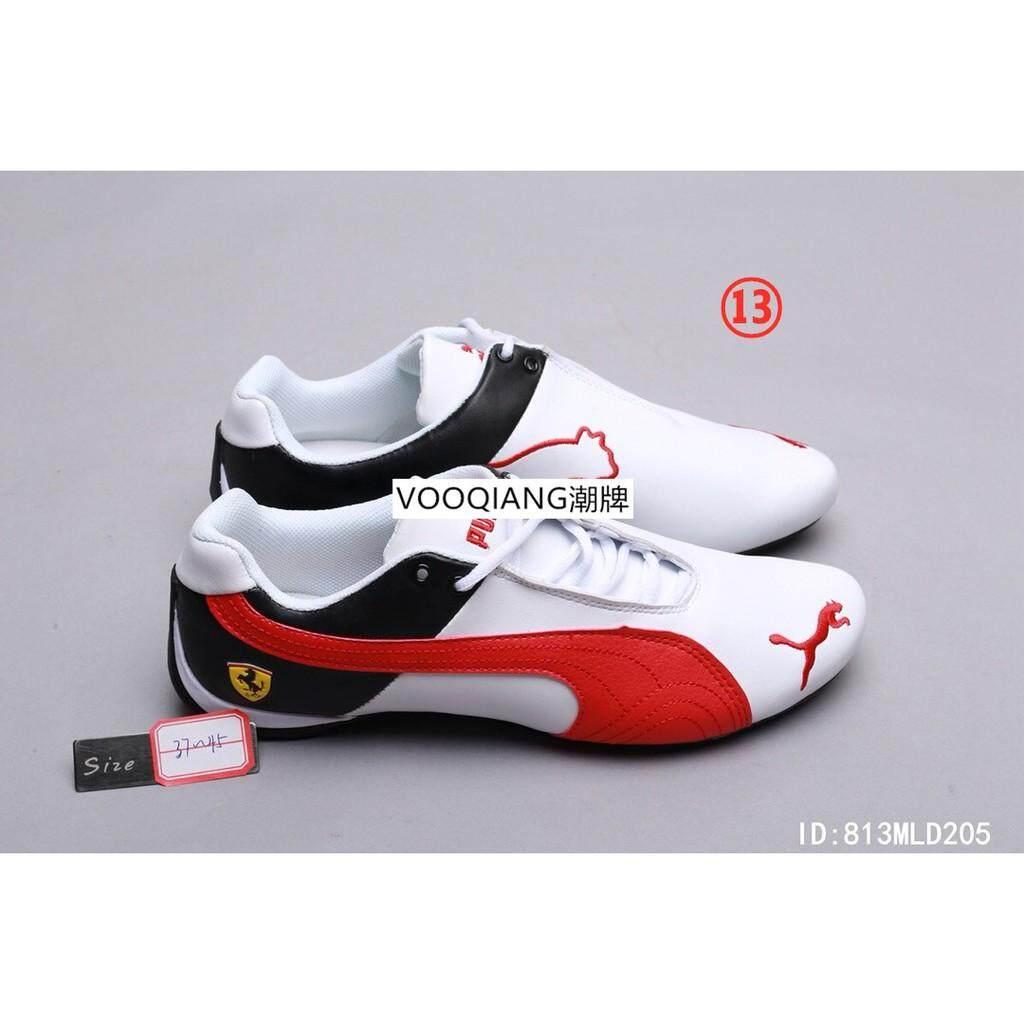 READY STOCK Puma_Future Car_Leather SF_Ferrari racing series running shoes