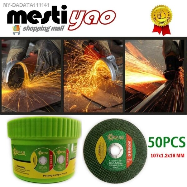 """4"""" Metal Cutting Disc 50pcs for Angle Grinder"""