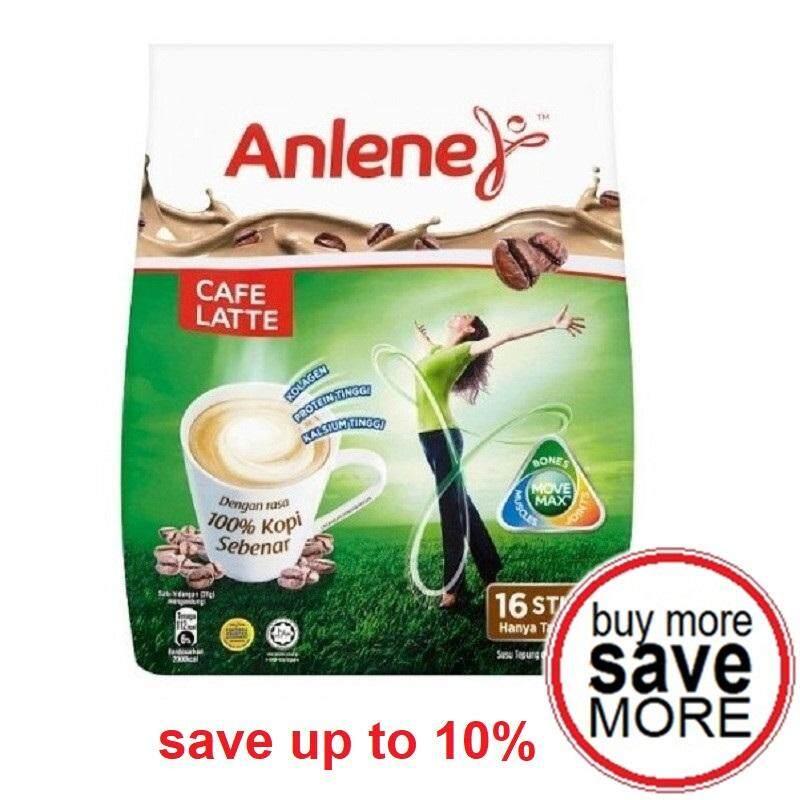 Anlene Cafe Latte 31g X 16sticks By Grocer2u.