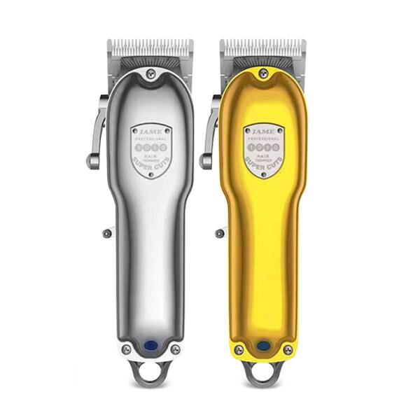 Cordless hair clipper hair trimmer gold barber shop powerful cutter hair cutting machine haircut cut electric rechargeable