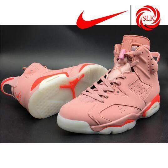 SLK★ Aleali Mays Nike Air Jordan 6 Millennial Pink 2017 Basketball shoes