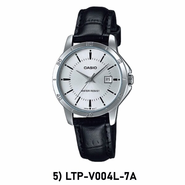 [100% ORIGINAL] CASIO LTP-V004L LTP-V004GL WOMEN ANALOG QUARTZ LEATHER CASUAL DRESS WATCH JAM CASIO ORI Malaysia