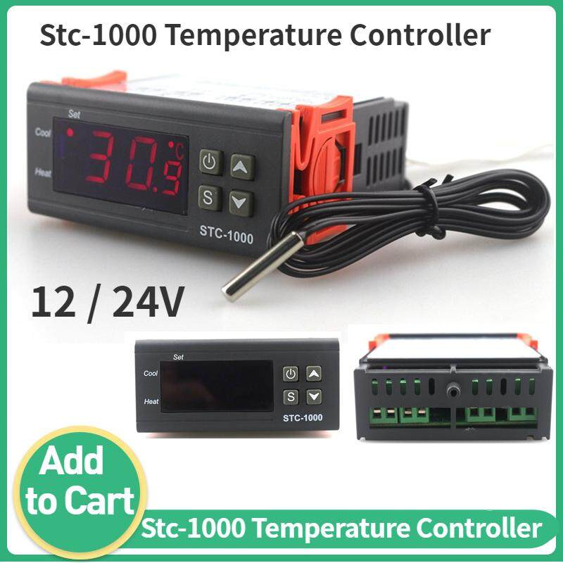 Digital Temperature Controller Thermostat w// Sensor for Freezer Fridge Hatching