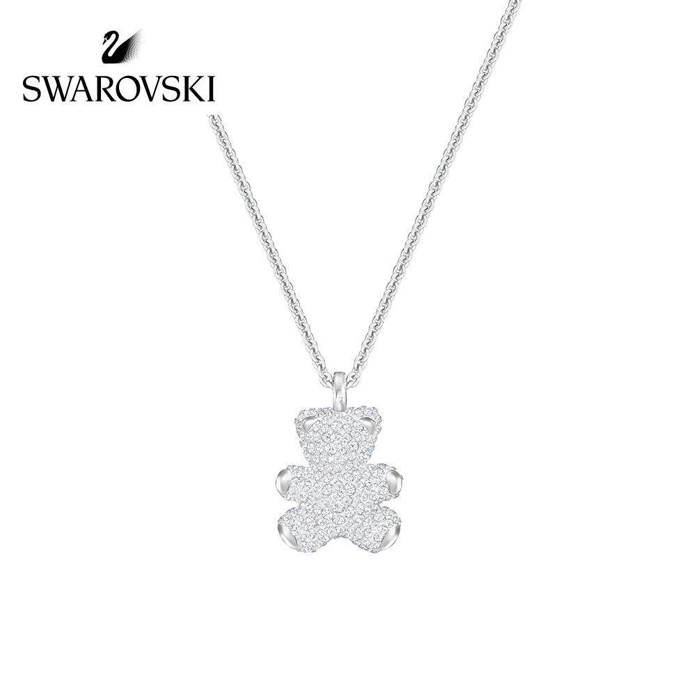 abab0a519 Swarovskinecklace female clavicle chain TEDDY 3D stereo send girlfriend gift