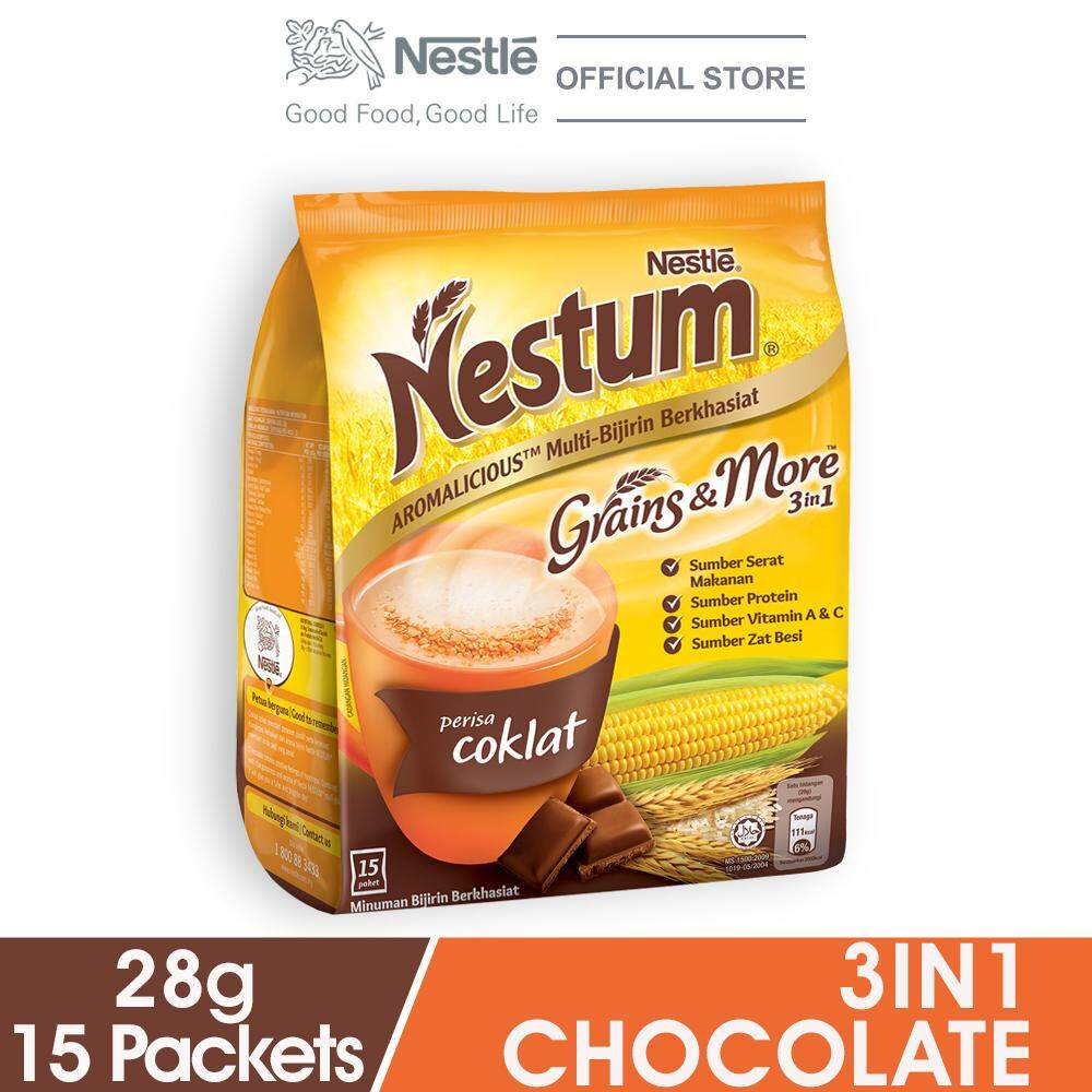 Nestum 3in1 Chocolate 15x28g By Lazada Retail Nestle Milk.