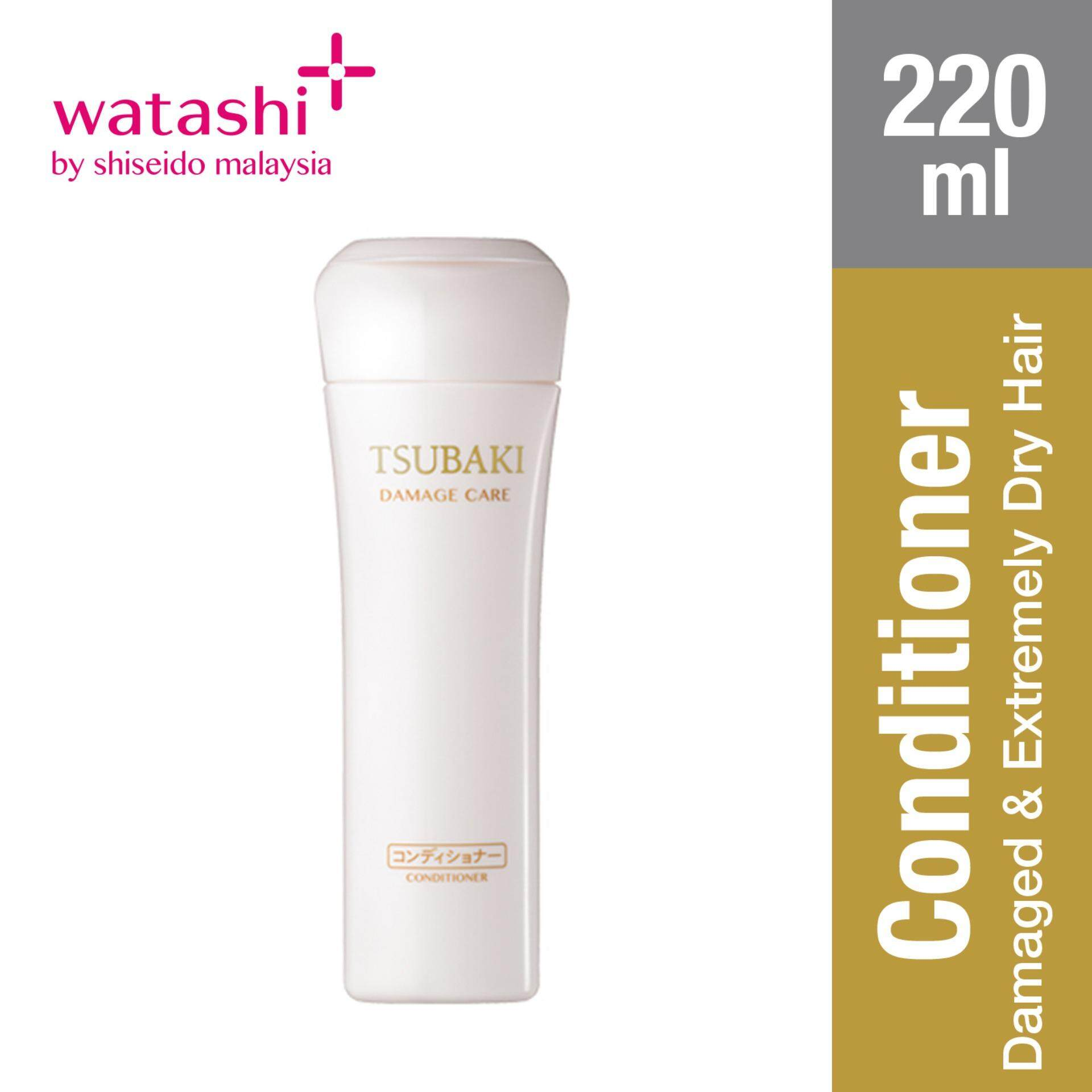 Tsubaki Damage Care Conditioner 220ml By Jbeauty By Shiseido.