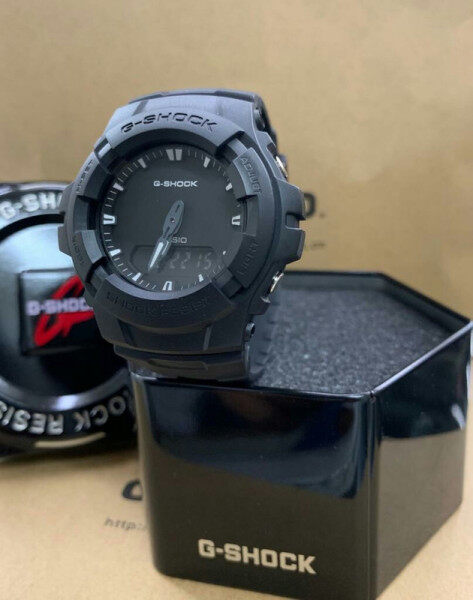 SPECIAL PROMOTION CASI0 G Style SHOCK_GA110 DUAL TIME RUBBER STRAP WATCH SET FOR MEN WITH FREE TIN GIFT BOX Malaysia