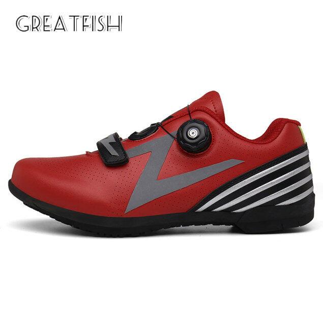 Giày đi xe đạp nam bằng cao su thoáng khí, giày thể theo thiết kế đơn giản size 36-46 Greatfish - INTL giá rẻ