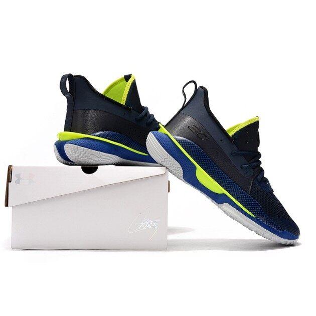 ˉUaˉ ˉUnderˉ ˉArmourˉ Người Đàn Ông Của ˉCurryˉ 7 Màu Đen Màu Xanh Lá Cây Giày Chơi Bóng Rổ giá rẻ
