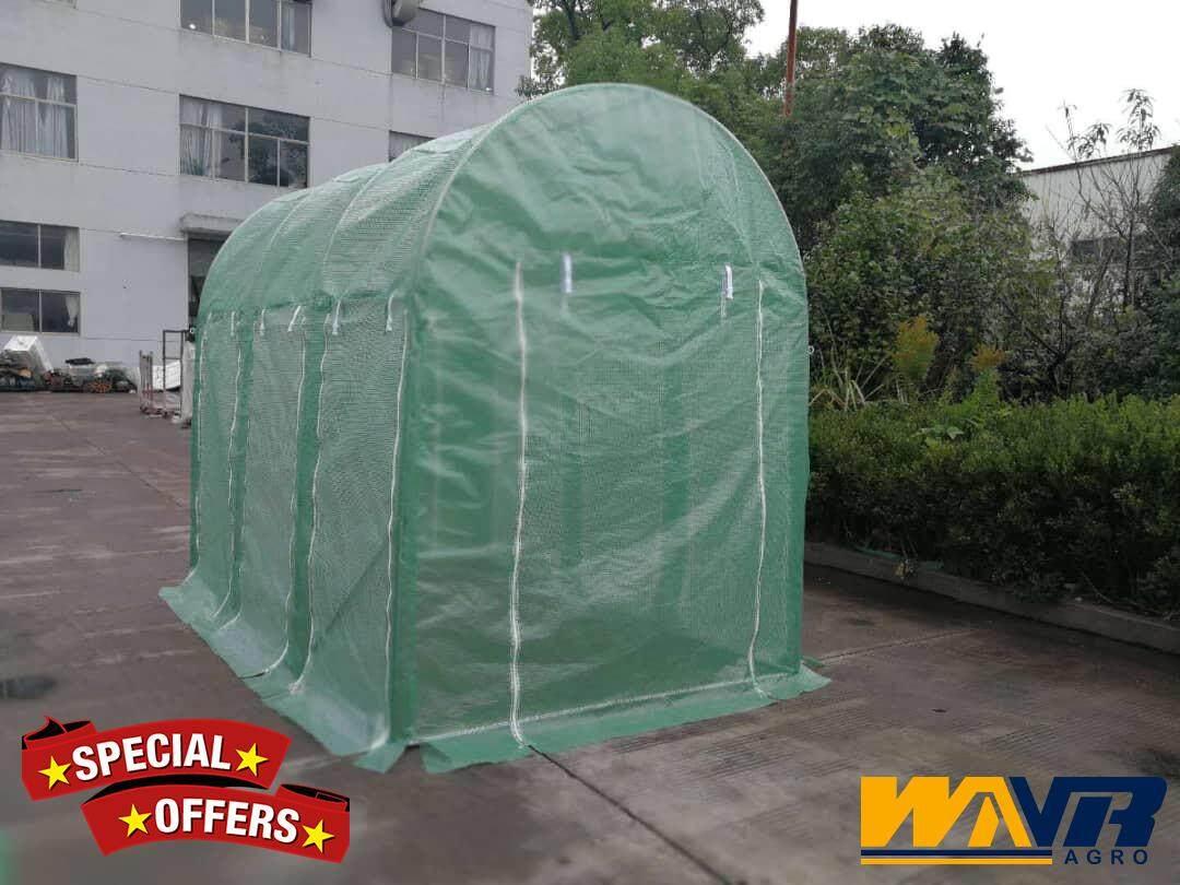 DIY Greenhouse, Rumah Pelindung Hujan (RPH) 9.8ft (L) x 6.5ft (W) x 8.2ft (H)