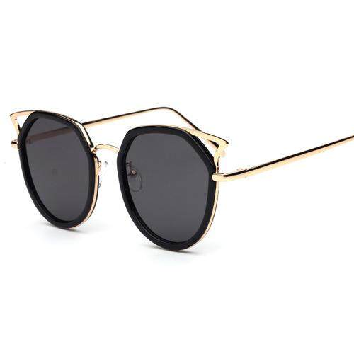 2c8c2be5d6a European and American cat eyes sunglasses mixed wholesale 2018 new ladies  frog mirror 1718 men s sunglasses
