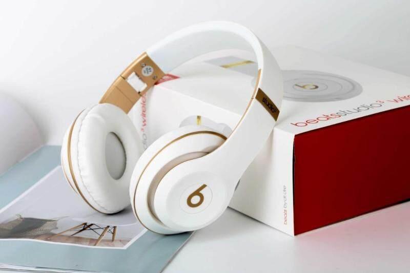 2021 [ต้นฉบับที่�ท้จริงต้นฉบับใหม่] Beats Studio3 Wireless Bluetoothเฮดโฟน�บบเสียบหูซับวูฟเฟอร์