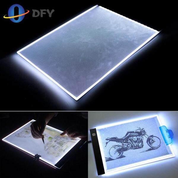 Bảng giá A4 LED Nghệ Thuật Nghệ Sĩ Hình Xăm Stencil Bảng Vẽ Miếng Lót Bàn Hộp Cực USB Truy Tìm Dấu Vết Phong Vũ