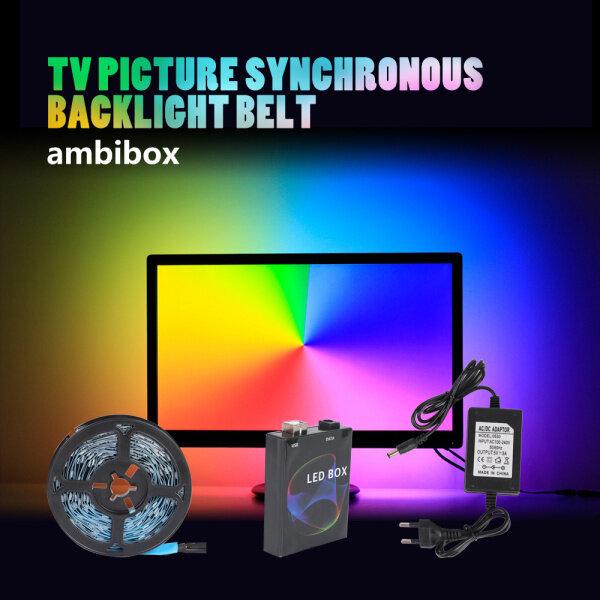 Bảng giá Màn Hình Cho Máy Tính Để Bàn WS2812 Bộ Đèn Dây LED Bền Màu RGB USB Xung Quanh