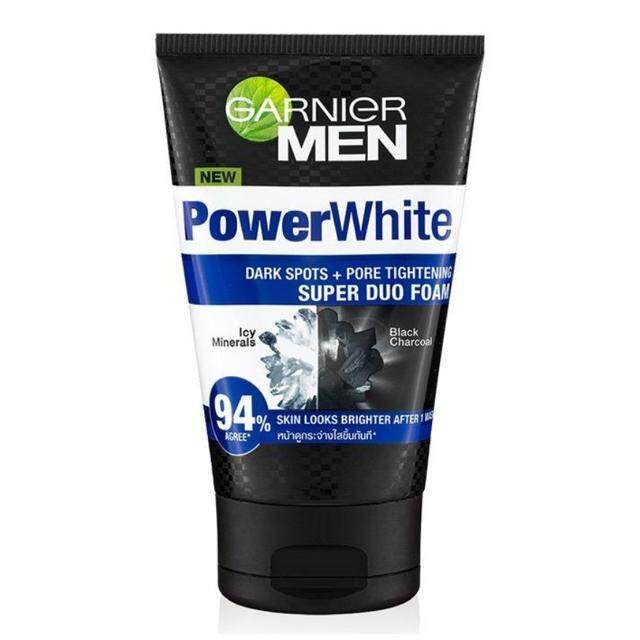 Garnier Men Power White Super Duo Foam Face Wash