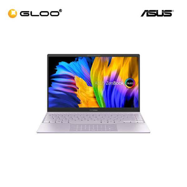 Asus Zenbook UX325E-AKG501TS (i5-1135G7,8GB,512GB SSD,Intel Iris Xe,13.3FHD,H&S,W10H,Lilac Mist) [FREE] Asus Sleeve + Pre-installed with Microsoft Office Home and Student 2019 Malaysia