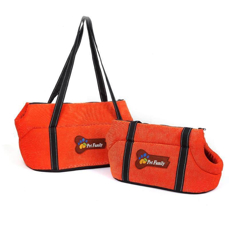 อุปกรณ์สำหรับสัตว์เลี้ยงสไตล์ใหม่ Oxford ผ้ากระเป๋าสะพายไหล่สัตว์เลี้ยงสุนัข Out กระเป๋าถือมือกระเป๋าเป้สัตว์เลี้ยงระบายอากาศ By Long-Shop.