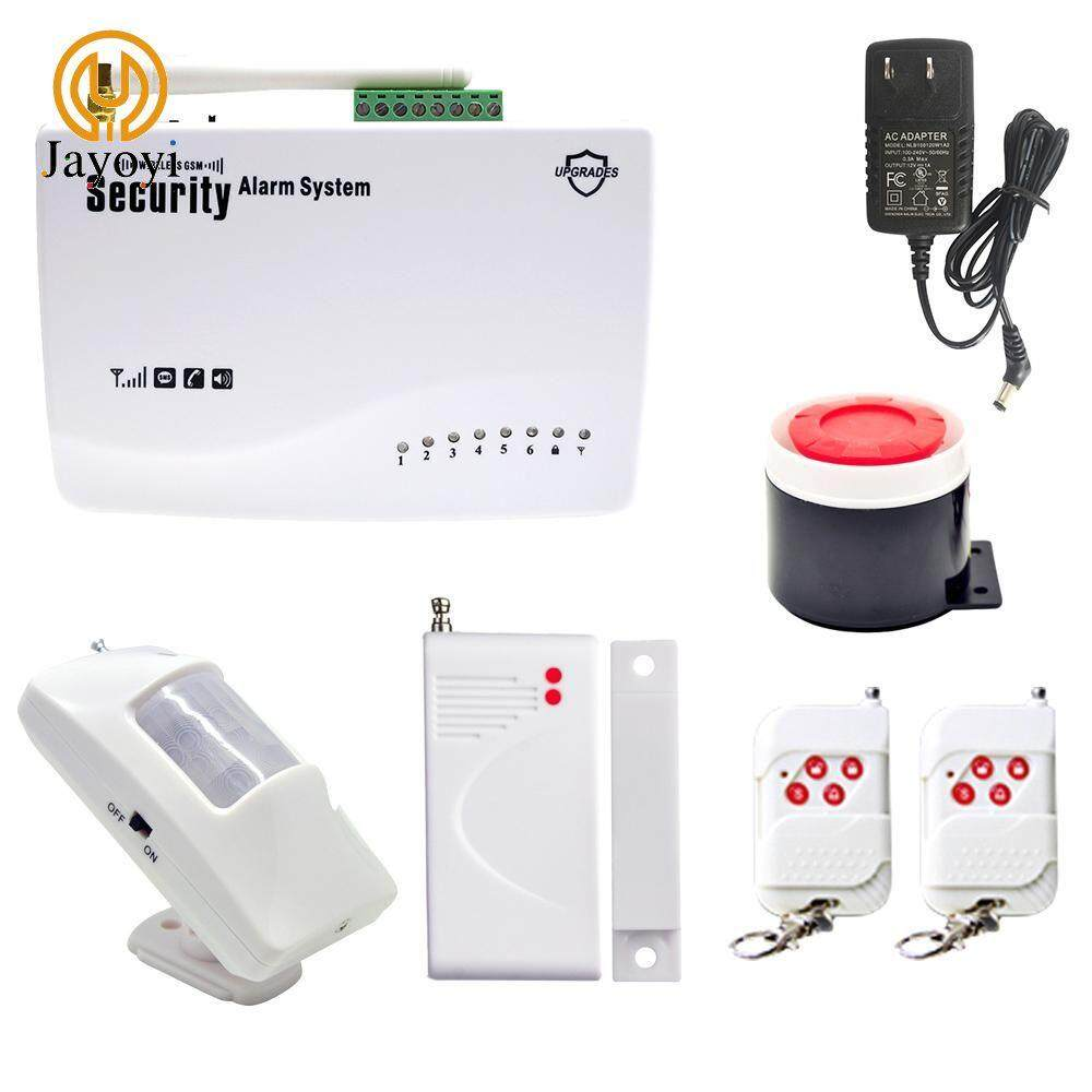 Jayoyi Wireless GSM security burglar alarm system Auto dialer SMS SIM call Alarm System